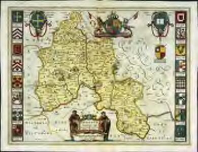 Oxonivm comitatus, vulgo Oxford Shire
