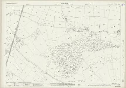 Worcestershire XXIX.7 (includes: Hadzor; Hanbury; Himbleton) - 25 Inch Map
