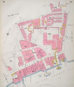 Insurance Plan of London Vol. V: sheet 111