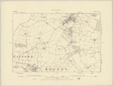 Bedfordshire XVIII.NW - OS Six-Inch Map