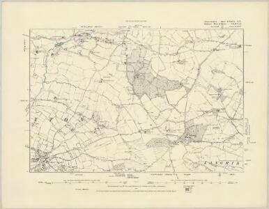 Gloucestershire LXXVII.SW - OS Six-Inch Map