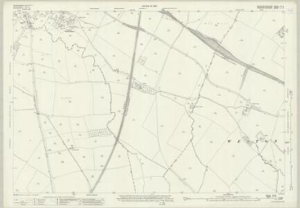 Gloucestershire VII.3 (includes: Aston Subedge; Church Honeybourne; Cow Honeybourne; Weston Subedge) - 25 Inch Map