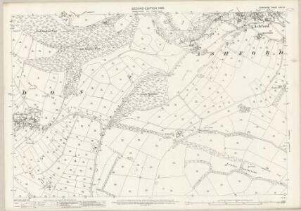 Derbyshire XXIII.10 (includes: Ashford; Bakewell; Sheldon) - 25 Inch Map