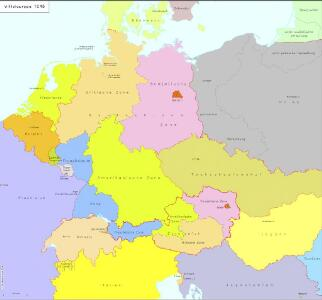Mitteleuropa 1945