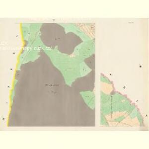 Chlum - c2505-1-004 - Kaiserpflichtexemplar der Landkarten des stabilen Katasters
