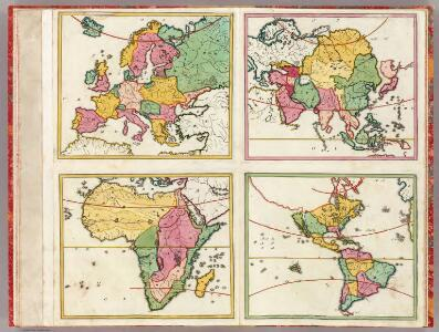 (Europa, Asia, Africa, America)