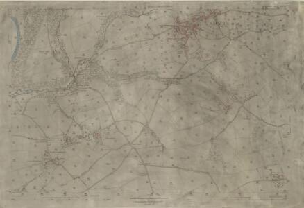 Devon XLI.11 (includes: Dolton; Dowland) - 25 Inch Map