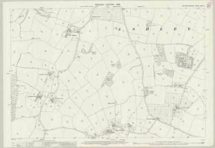 Buckinghamshire XXXIX.6 (includes: Ashley Green; Chesham; Latimer) - 25 Inch Map