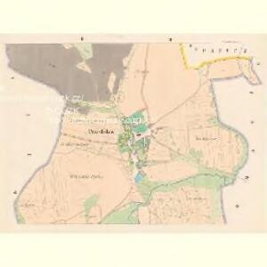 Przedslaw (Předslaw) - c6186-1-002 - Kaiserpflichtexemplar der Landkarten des stabilen Katasters