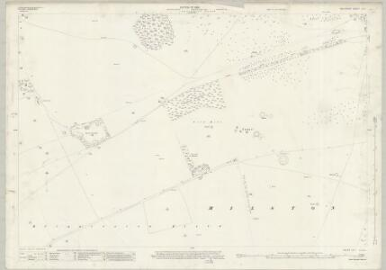 Wiltshire LV.1 (includes: Figheldean; Milston) - 25 Inch Map