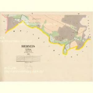 Riedweis - c6495-1-005 - Kaiserpflichtexemplar der Landkarten des stabilen Katasters
