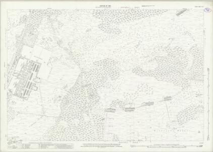Surrey XVI.9 (includes: Chobham; Frimley; Pirbright) - 25 Inch Map