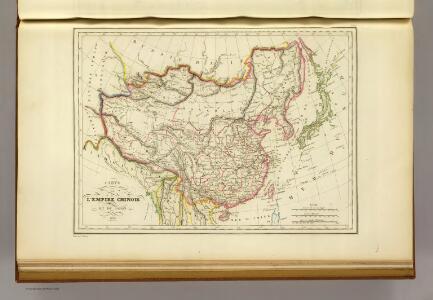 L'Empire Chinois et du Japon.