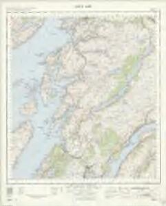 Loch Awe - OS One-Inch Map