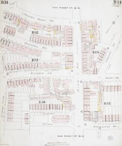 Insurance Plan of London West North-West District Vol. B: sheet 14