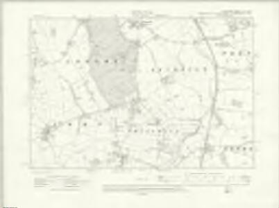 Cheshire XIII.SW - OS Six-Inch Map