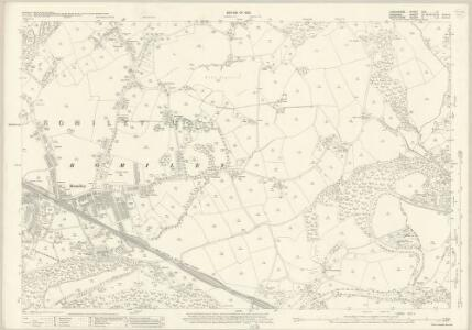 Lancashire CXII.11 (includes: Bredbury And Romiley; Marple) - 25 Inch Map