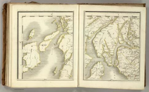 Sheets 73-74.  (Cary's England, Wales, and Scotland).