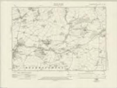 Worcestershire IX.SE - OS Six-Inch Map