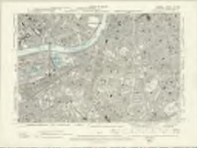 London XI.NW - OS Six-Inch Map