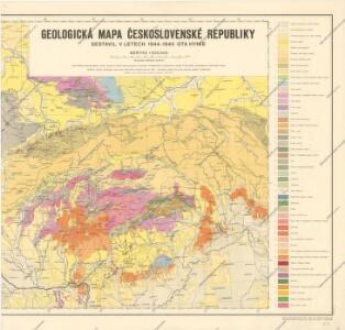 Geologická mapa Československé republiky