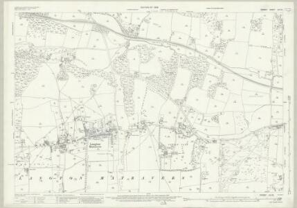 Dorset LVI.12 (includes: Langton Matravers; Swanage; Worth Matravers) - 25 Inch Map
