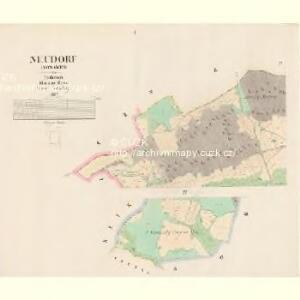 Neudorf (Nowawes) - c5231-1-001 - Kaiserpflichtexemplar der Landkarten des stabilen Katasters