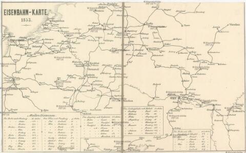 Eisenbahn-Karte