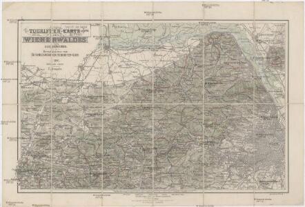 Touristen-Karte des Wienerwaldes