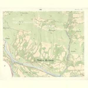 Mitter Beczwa (Prostředny Beczwa) - m2424-1-011 - Kaiserpflichtexemplar der Landkarten des stabilen Katasters