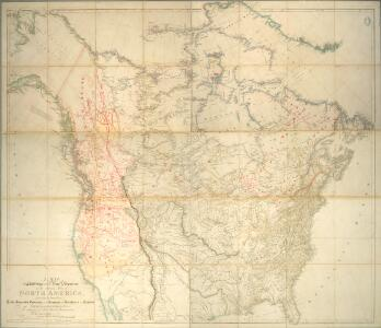A map exhibiting all the new discoveries in the interior parts of North America.