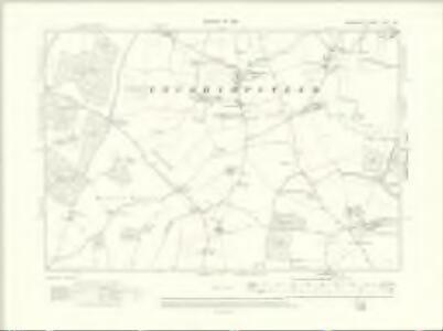 Berkshire XXVI.SE - OS Six-Inch Map