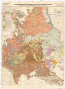 Wehrgeologische Übersichtskarte des Europäischen Rußlands