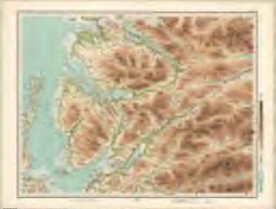 Strome Ferry, Gairloch - Bartholomew's 'Survey Atlas of Scotland'