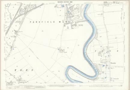 Durham LVI.4 (includes: Preston On Tees; Stockton On Tees; Thornaby) - 25 Inch Map