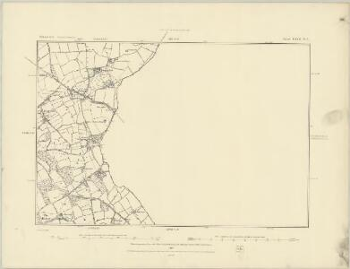 Shropshire LXVII.NW - OS Six-Inch Map