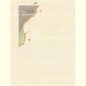 Ober Langendorf (Hornj Laucka) - m0774-1-004 - Kaiserpflichtexemplar der Landkarten des stabilen Katasters