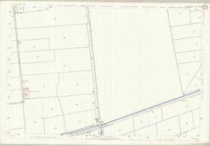 Cambridgeshire VI.10 (includes: Parson Drove; Sutton St Edmund; Thorney; Wisbech St Mary) - 25 Inch Map