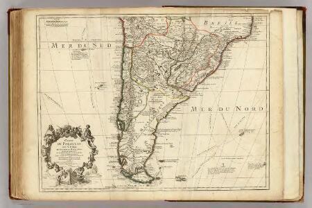Paraguay, Chili, Detroit de Magellan &c.