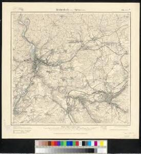 Meßtischblatt 123.(3128) : Reichenbach (Sächs.) - Greiz (Preuss.), 1920