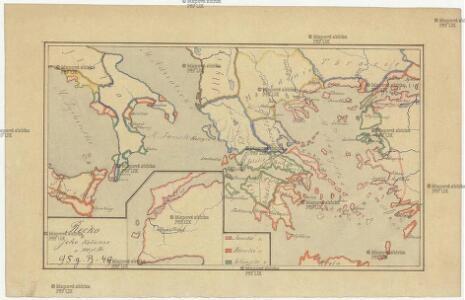 Řecko a jeho kolonie r. 500 př. Kr