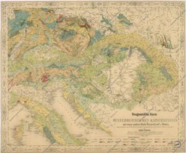 Geognostische Karte des Oesterreichischen Kaiserstaates