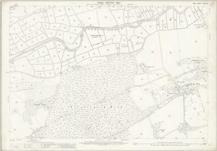 Kent XXXVI.13 (includes: Fordwich; Littlebourne; Westbere) - 25 Inch Map