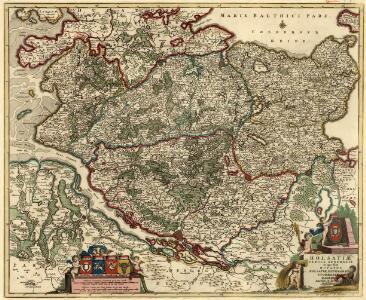 Holsatiae Tabula Generalis