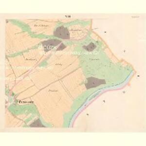 Przisnitz - c6247-1-007 - Kaiserpflichtexemplar der Landkarten des stabilen Katasters