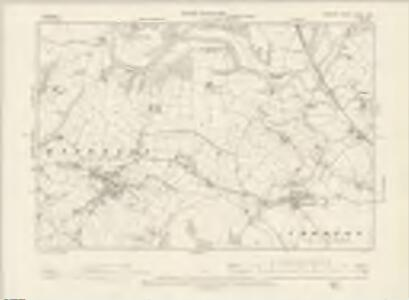 Cheshire XXXIII.NW - OS Six-Inch Map
