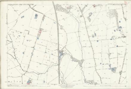 Shropshire XXII.16 (includes: Ercall Magna; Hodnet; Stanton Upon Hine Heath) - 25 Inch Map