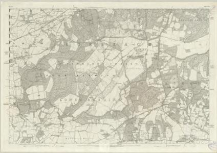 Sussex XIV - OS Six-Inch Map