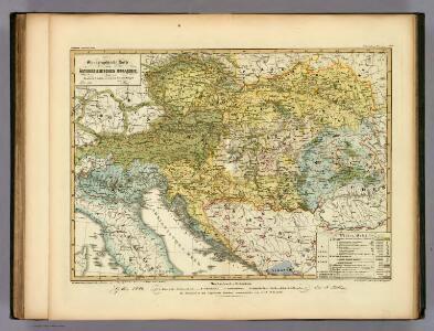 Ethnographische Karte der Osterreichischen Monarchie.