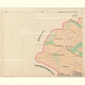 Bergreichenstein - c3068-1-001 - Kaiserpflichtexemplar der Landkarten des stabilen Katasters